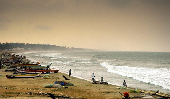 Beaches In West Bengal-Mandarmoni Beach