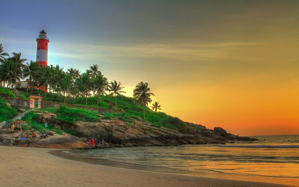 Beaches in Tamil Nadu-Kovalam Beach