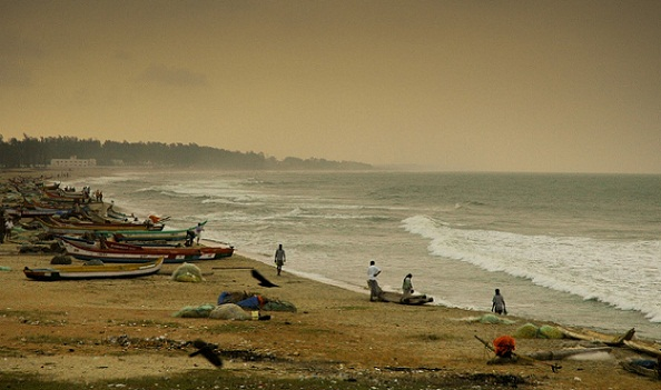 Beaches in Tamil Nadu-Mamallapuram Beach