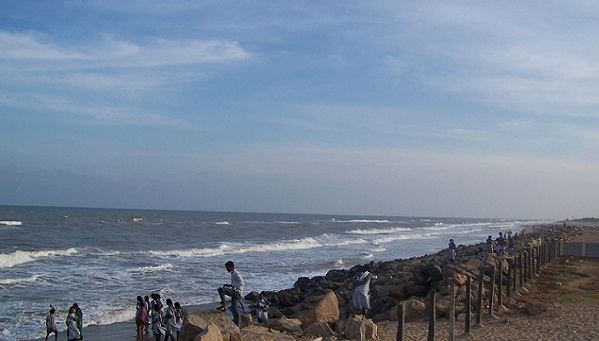 Beaches in Tamil Nadu-Poompuhar Beach