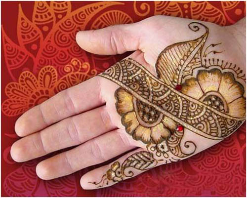 Beautiful shaded mehndi designs