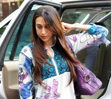 photo of Karisma Kapoor  - car