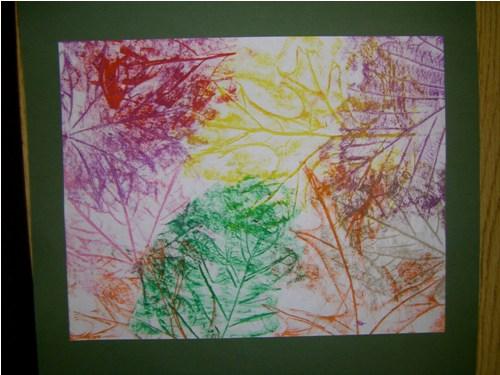 Crayon Rubbing Art