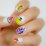 4 Cute and Easy Fruit Nail Art Designs