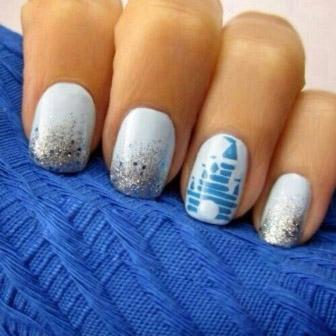 Disney Logo Nails The