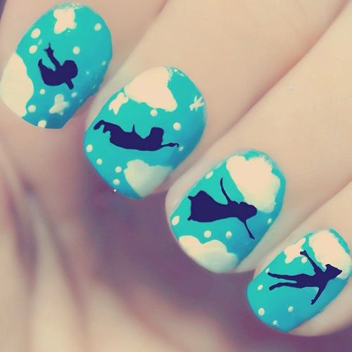 Disney Peter Pan Nails