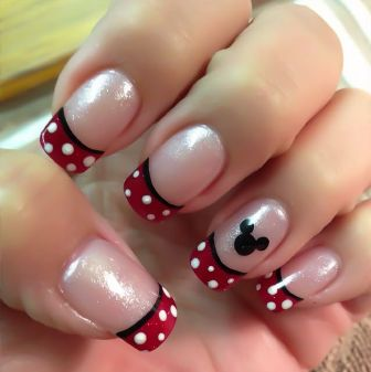 Easy Disney French Tips This