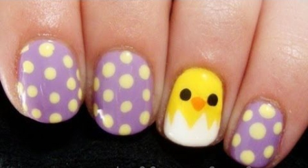 9 Simple Easter Nail Art Designs With Pictures Styles At Life