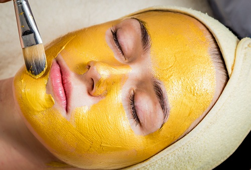 Facial Hair Removal for Women - Turmeric Face Pack