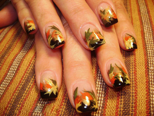 Fall Inspired Nail Design