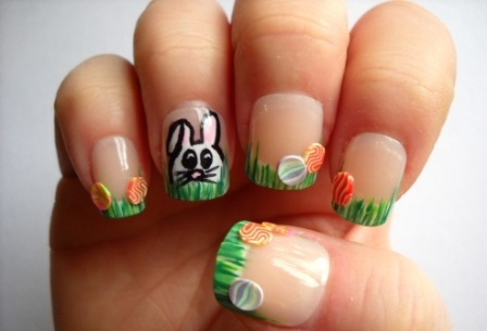 9 simple easter nail art designs with pictures styles at life a prinsesfo Images