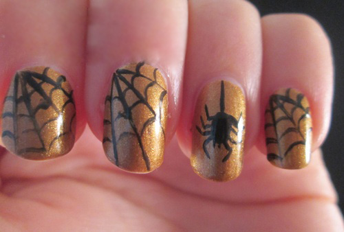 6 best spider web nail art designs styles at life spider web nail art prinsesfo Image collections
