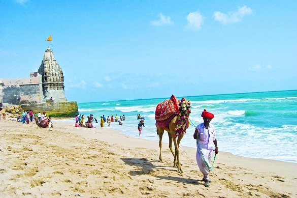 Gujarat Beaches-Dwaraka Beach