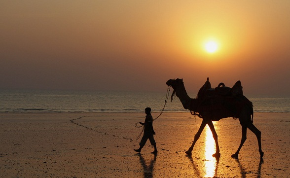 Gujarat Beaches-Kutch Mandvi Beach