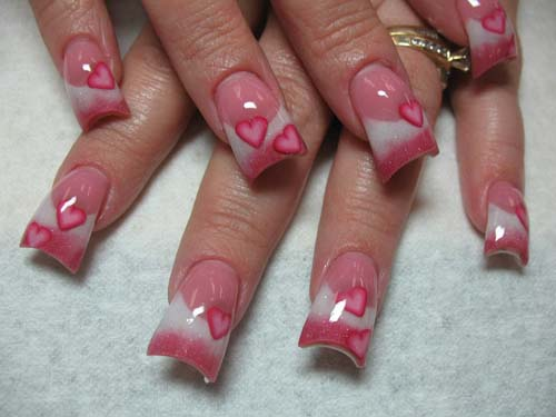 9 popular valentines day nail art designs styles at life happy valentines day nail art prinsesfo Gallery