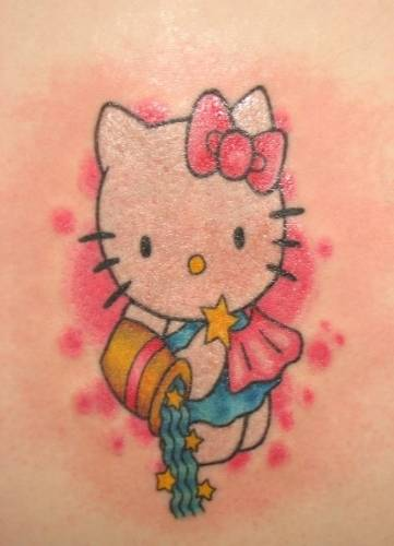 Hello Kitty Tattoo for Kids