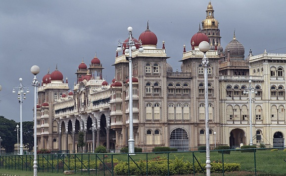 City Palace in Mysore, Southern India