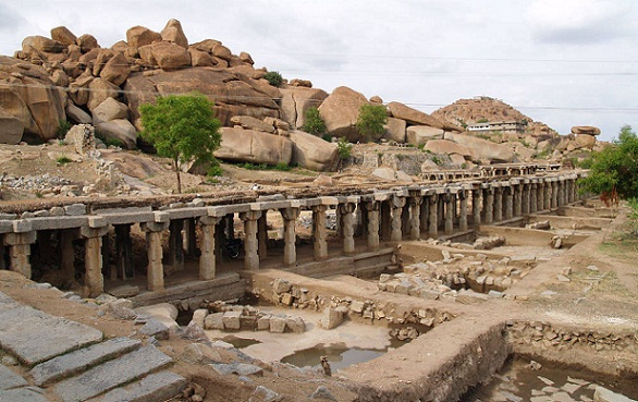 Heritage Tours in India-Group of Monuments at Hampi