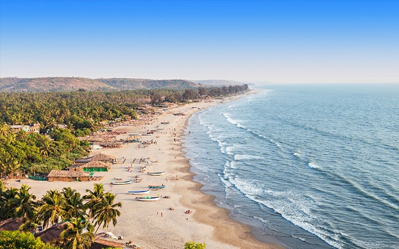 Honeymoon Places in India in December-goa