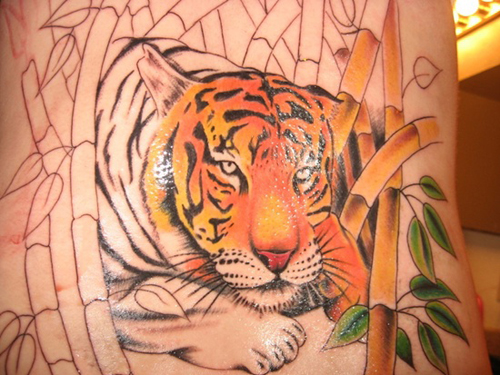 Majestic Tiger Tattoo