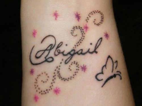 15 temporary and ink tattoo designs for kids with images for Name tattoos for kids