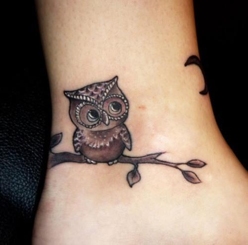 Owls Tattoo