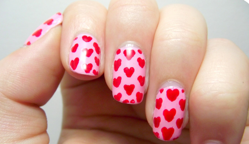 9 Best Heart Nail Art Designs With Images Styles At Life