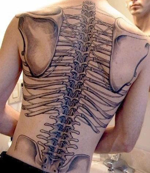 Skeleton Tattoo