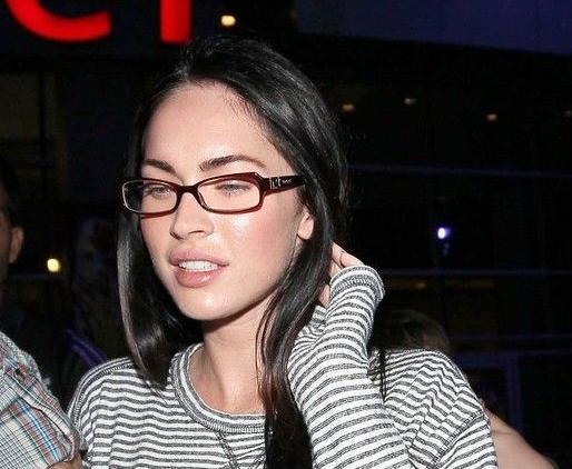 looks, Megan Fox still manages to look comely without any ...