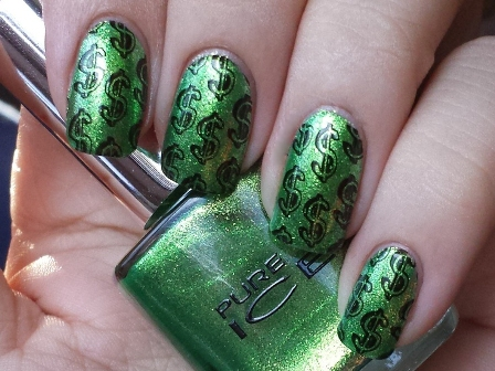 9 best dollar nail art designs styles at life you can create green prinsesfo Gallery