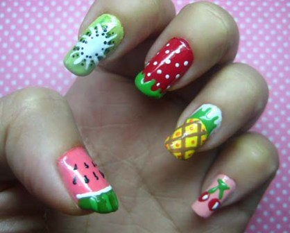9 Best Watermelon Nail Art Designs | Styles At Life
