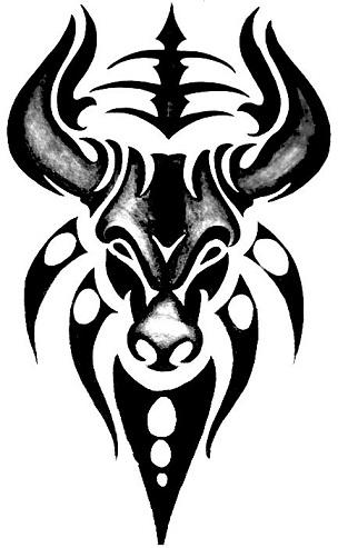 taurus-tribal-tattoo-11