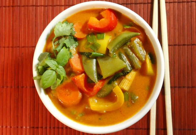 thai red curry is fragrant dish and can be made mild to red hot curry ...