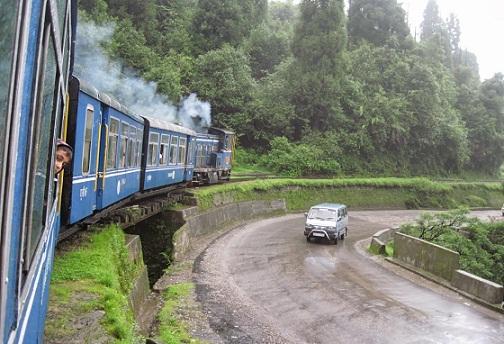 The Darjeeling Toy Train (New Jalpaiguri to Darjeeling)