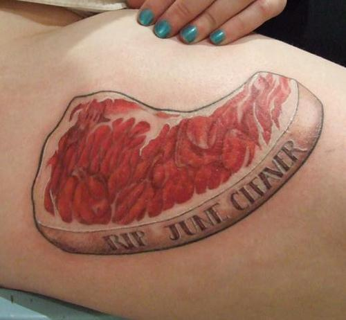 Ugly Tribute Tattoo