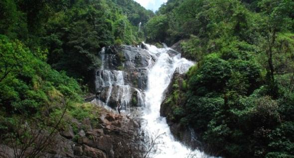 Waterfalls in Goa-Kuskem Falls