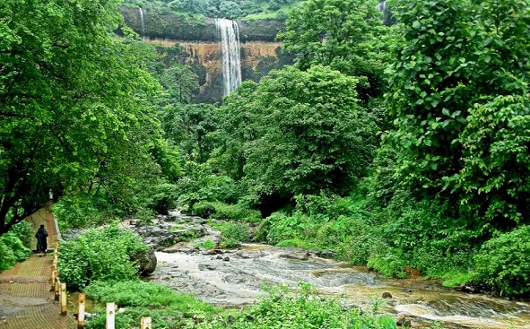 Waterfalls in Goa-Sada Falls