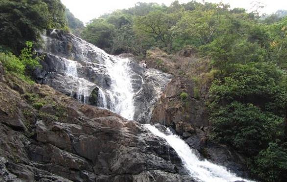 Waterfalls in Goa-Tambdi Surla Falls