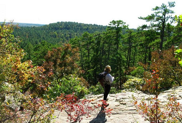 Wonders of Robbers Cave-Hiking Trails