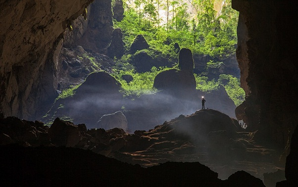 Wonders of Son Doong Caves-Self Contained Cave