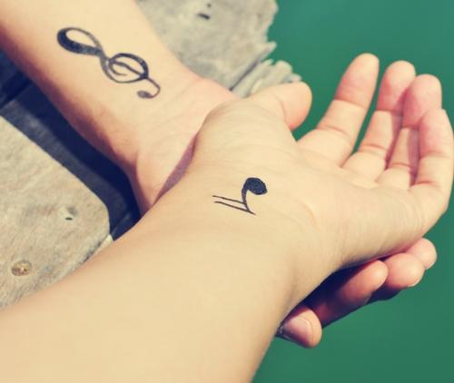 Wrist Tattoo - Music