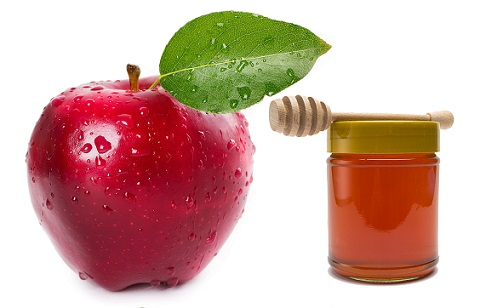 Apple and Honey for oily skin