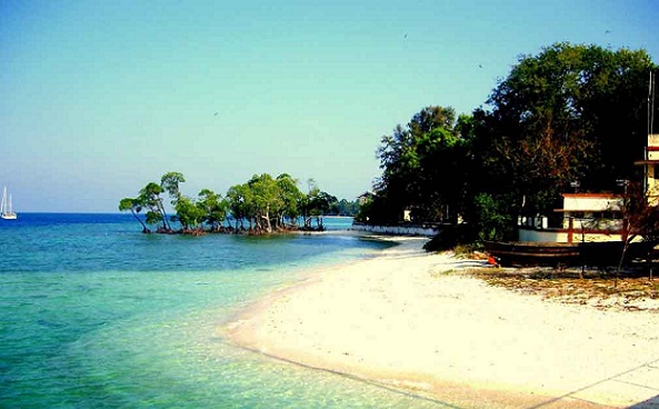 Beaches in Andaman-Long Island Beach