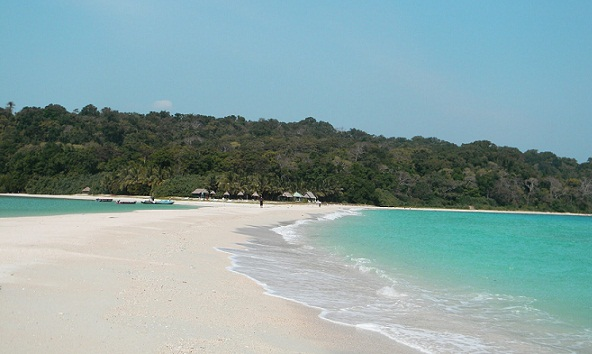 Beaches in Andaman-Ramnagar Beach
