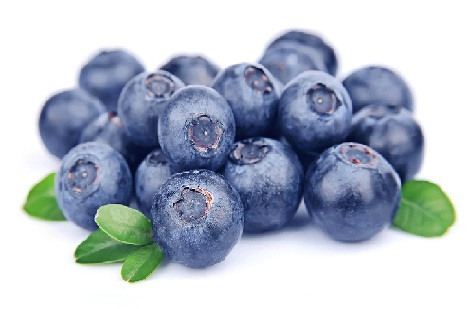 Glowing Skin Food Blueberries