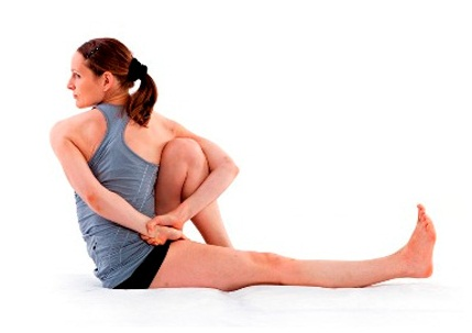 Best Yoga Poses For Glowing Skin-Marichyasana