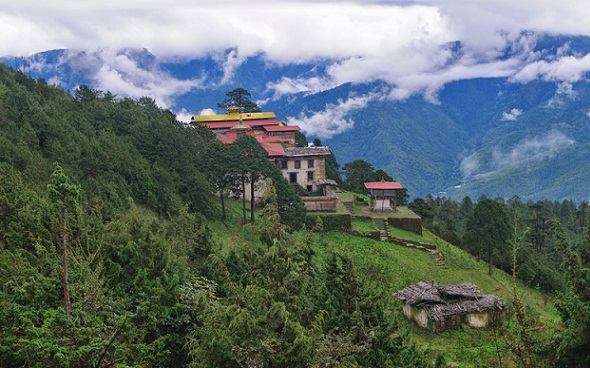 Bhutan Tourist Places-Phajoding Temple