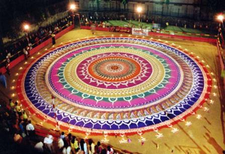 big rangoli designs