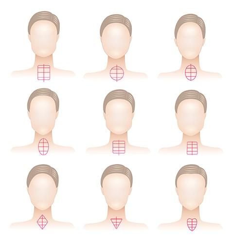 Choose hairstyles in 5 steps
