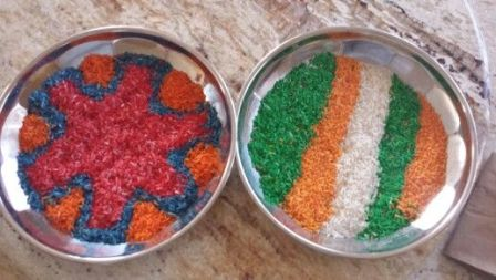 Easy Rangoli For Children